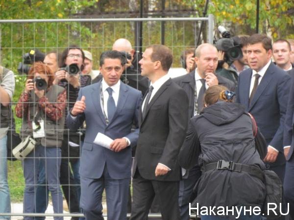 Сиенко, Медведев|Фото: Накануне.RU