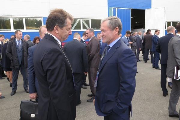 Алексей Кокорин на выставке Russia Arms Expo 2015|Фото: пресс-служба губернатора Курганской области