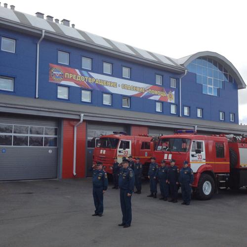 открытие пожарного депо|Фото: Пресс-служба корпорации развития