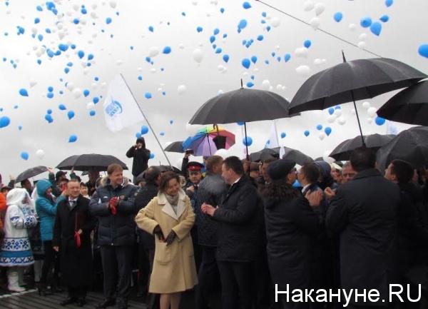 Мост через Надым, открытие, Маслов, Холманских, Комарова, Якушев, Кобылкин|Фото: Накануне.RU