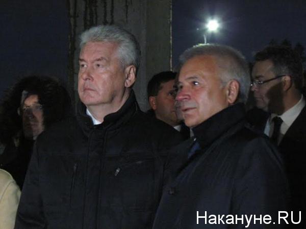 Собянин, Алекперов|Фото: Накануне.RU