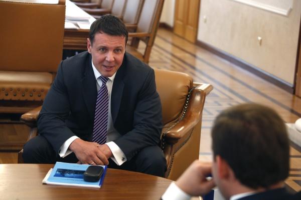 Евгений Куйвашев, Татьяна Есаулкова|Фото: Департамент информационной политики губернатора
