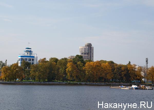 Екатеринбург, плотинка, Исеть, Динамо, осень|Фото: Накануне.RU
