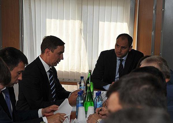 Денис Паслер, строительство ЕКАД, совещание|Фото: пресс-служба правительства Свердловской области