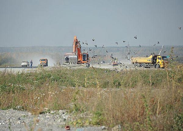 строительство ЕКАД|Фото: пресс-служба правительства Свердловской области