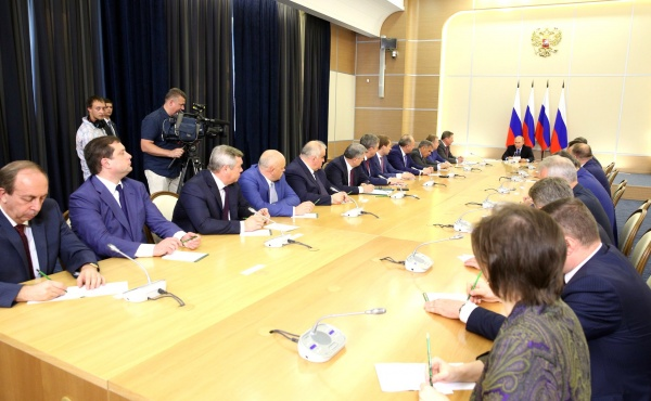 Владимир Путин, встреча с губернаторами|Фото:kremlin.ru