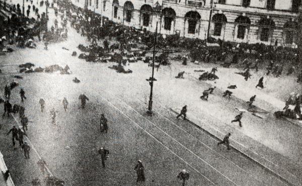 расстрел демонстрации, Петроград, 4 июля 1917|Фото: history-at-russia.ru
