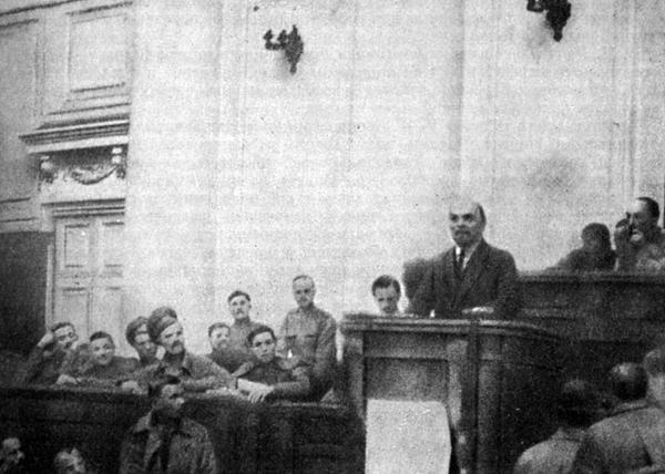 Владимир Ленин, выступление, апрельские тезисы, Таврический дворец|Фото: historic.ru