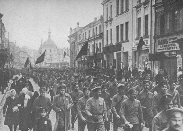 большевики, 1917|Фото: rusrevolution.info