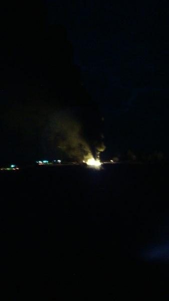 Пожар в Бершетском сельском поселении|Фото: ГУ МЧС РФ по Пермскому краю