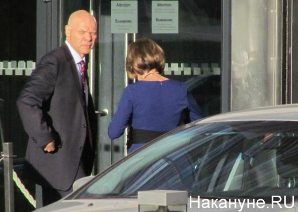 Маркус Микели, генеральный консул США в Екатеринбурге, Хайят|Фото: Накануне.RU