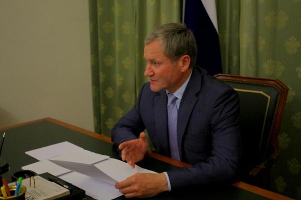 Алексей Кокорин совещание по отоплению|Фото: пресс-служба губернатора Курганской области
