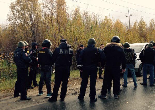 Учения ФСБ в Нефтеюанске Фото: vk.com