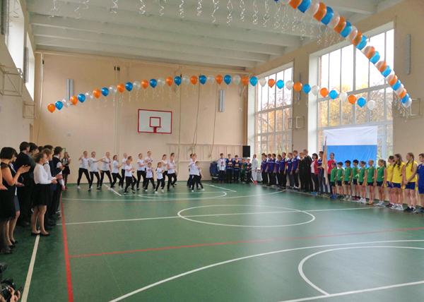 школа, открытие спортзала в рефтинском|Фото: Департамент информационной политики губернатора
