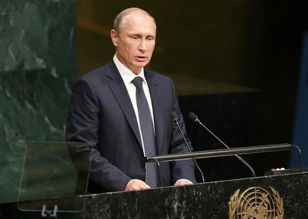 Владимир Путин, Генассамблея ООН|Фото: EPA/MATT CAMPBELL