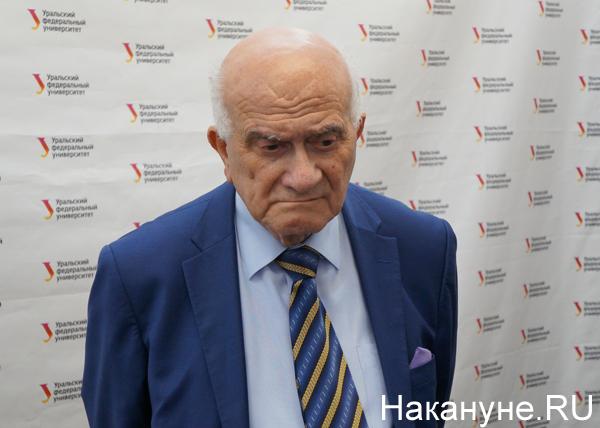 Евгений Ясин, лекция в УрФУ|Фото: Накануне.RU