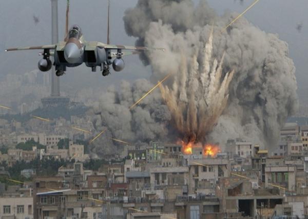 Сирия, бомбардировки, самолет|Фото: new-rus.info