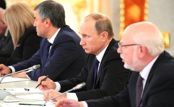 Володин, Путин, Федотов|Фото: kremlin.ru
