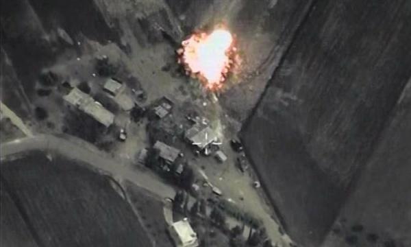 Сирия, бомбардировка, ИГИЛ|Фото: Минобороны РФ