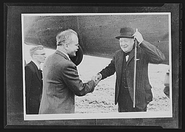 Молотов, Черчилль и Гарриман|Фото: radikal.ru