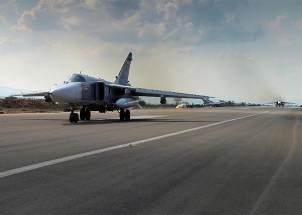Су-24М, аэродром Хмеймим, Латакия, Сирия |Фото: Министерство обороны Российской Федерации