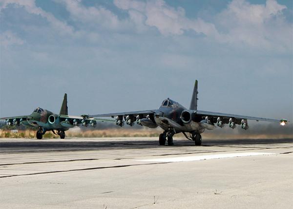Су-25, аэродром Хмеймим, Латакия, Сирия |Фото: Министерство обороны Российской Федерации