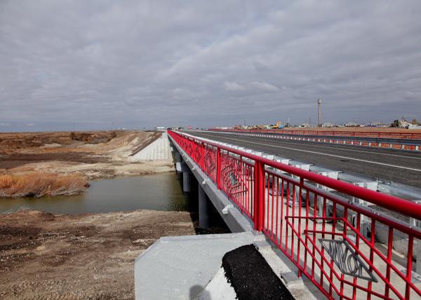 Мост в Карталинском районе|Фото: пресс-служба министерства транспорта Челябинской области