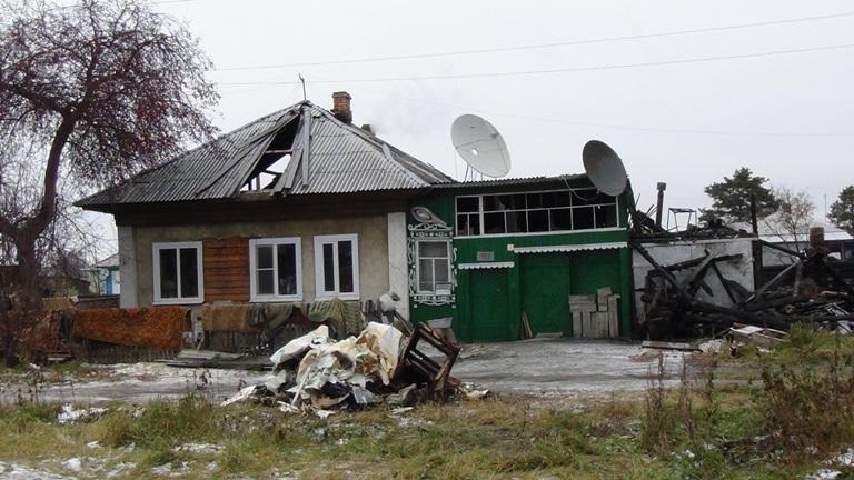 пожар, дом, |Фото: УМВД Свердловской области