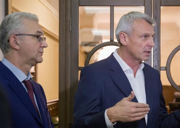 Александр Якоб, Сергей Носов, встреча Якоба и Носова|Фото: ntagil.org