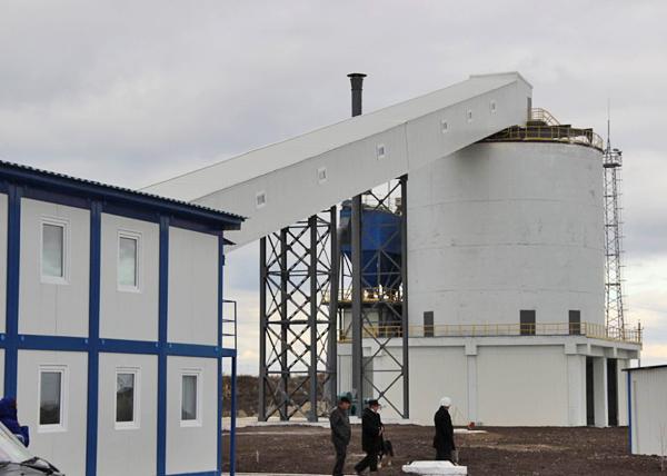 Завод по производству извести в Варненском районе Фото: администрация Варненского района