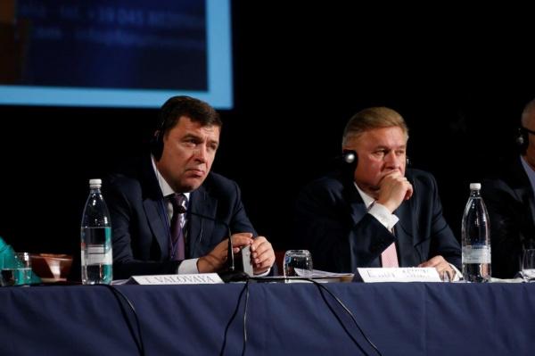 Евгений Куйвашев V Евразийский форум|Фото: ДИП губернатора Свердловской области