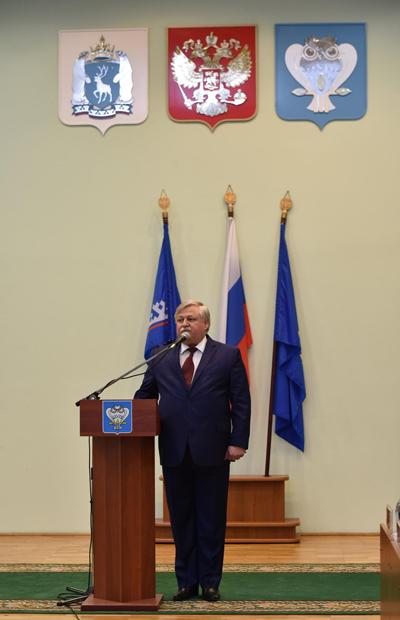 Новый Уренгой, глава, Иван Костогриз Фото: Пресс-служба мэрии Нового Уренгоя
