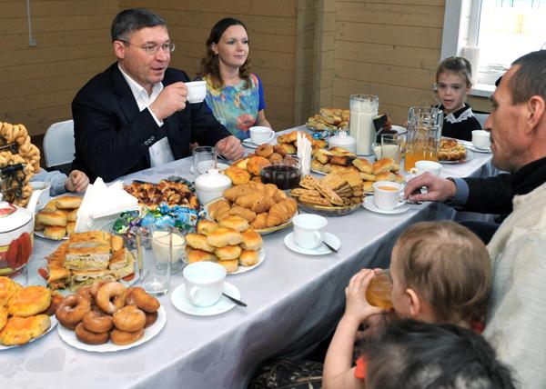 Дом для многодетной семьи, Владимир Якушев|Фото: gubernator.admtyumen.ru