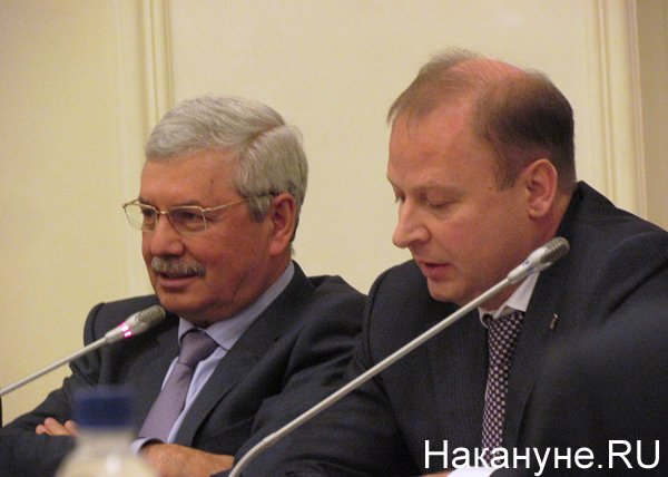 Владимир Мякуш, Виктор Шептий|Фото: Накануне.RU