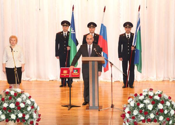 Глава Когалма, Николай Пальчиков, инаугурация|Фото: Пресс-служба мэрии Когалыма