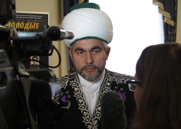 главный муфтий Уральского региона Ринат Раев|Фото: kurganobl.ru