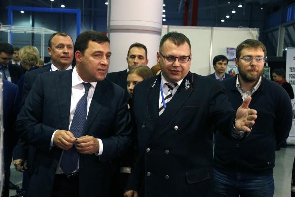 Евгений Куйвашев открытие WorldSkills Hi-Tech|Фото: ДИП губернатора Свердловской области