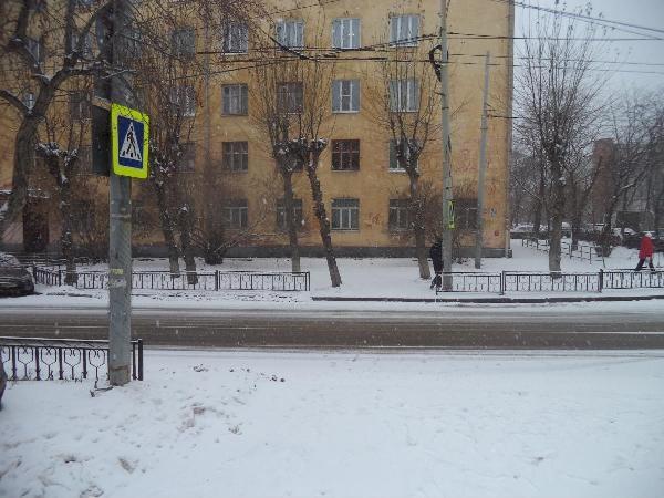 Екатеринбург Студенческая пешеходный переход|Фото: ГИБДД Екатеринбурга
