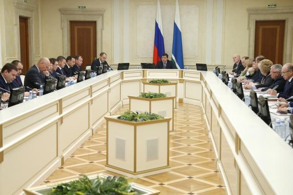 Евгений Куйвашев президиум правительства по АПК|Фото: ДИП губернатора Свердловской области