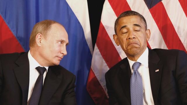 Путин и Обама, |Фото: REUTERS