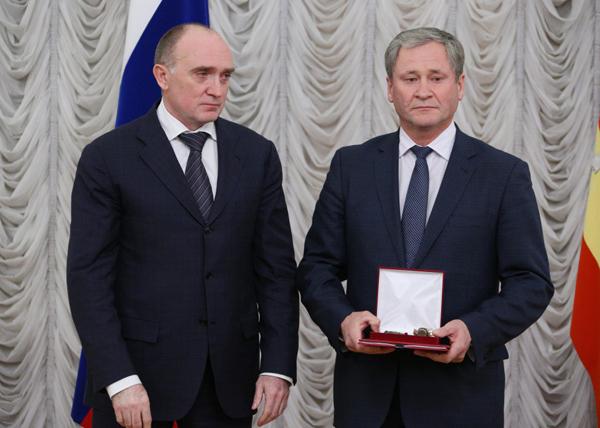 Борис Дубровский и Алексей Кокорин|Фото: губернатор Челябинской области