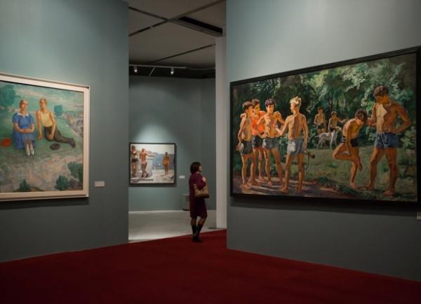 выставка советского искусства, Манеж Фото: министерство культуры РФ