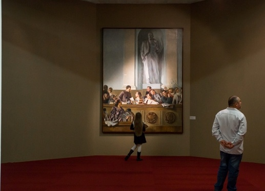 выставка советского искусства, Манеж, сталин Фото: министерство культуры РФ