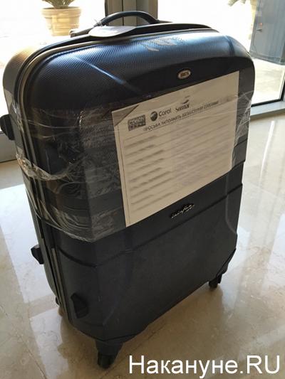 чемодан, багаж Фото: Накануне.RU