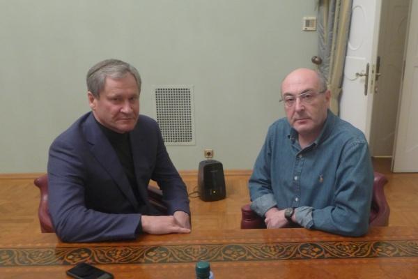 Алексей Кокорин Михаил Болотин|Фото: пресс-служба губернатора Курганской области