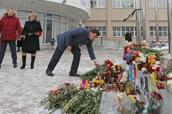 Евгений Куйвашев Париж теракт соболезнования|Фото: ДИП губернатора Свердловской области