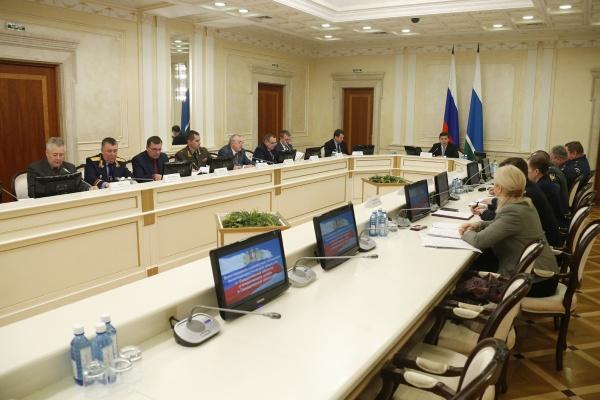 заседание антитеррористической комиссии Свердловской области|Фото: ДИП губернатора Свердловской области