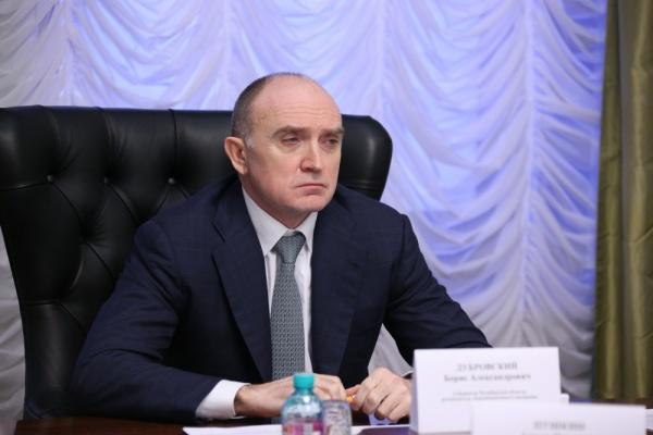 Борис Дубровский совещание с силовиками|Фото: gubernator74.ru