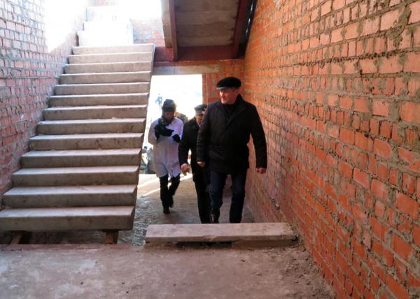 строительство школы в селе Уксянское Далматовского района, Алексей Кокорин|Фото: kurganobl.ru