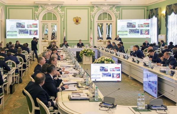 заседание правления РЖД|Фото: пресс-служба РЖД